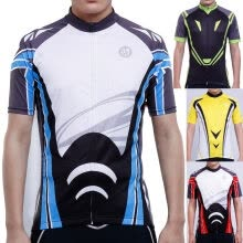 -Men's T-shirts Bicycle Clothing Sports Shirts Cycling Short Sleeve Jerseys Tops on JD