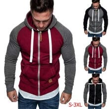 -Mens Fleece Hoodie Jacket Sweater For Layering Warm Lounge Full Zip Up - S-XXL on JD