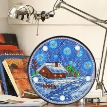 -Disc Diamond Painting with LED Night Light Art Craft Home Decoration on JD