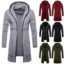 -Mens Autumn Winter Jacket Coat Warm Trench Long Overcoat Casual Outwear Cardigan on JD