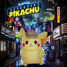 -Pokémon Detective Pikachu Plush Stuffed Animal Soft Toy Collection Birthday Gifts on JD