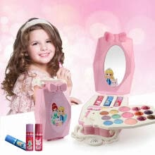 -Dress-Up Toy Makeup Cosmetic Box Fairy Tale Handbag Shape Pretend Play Girls Cosmetics Kit Environmental Toys Beauty Safety Toy on JD