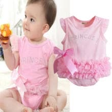 -New Toddler Baby Girl Princess Romper Dress Jumpsuit Outfit Set Pink 0-24 Months on JD