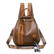 -Fashion texture ocean saddle bag female hit color packet tide personality ring tote bag on JD