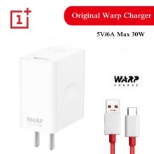-(Aibuy exclusive)Original Oneplus 7 Pro charger warp charge 30W Dash Power adapter Type-C Cable 5V 6A maxA on JD
