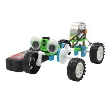 -【YIWULA】Wire-controlled Small Reptile Diy Machine Invention Science Electric Robot on JD