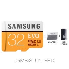 -SAMSUNG New Micro SD Memory Card EVO+ 128GB 64GB 32GB 95MB/s 100MB/s C10 SDHC SDXC U1 U3 TF Card 64 G 32 G Cards 100% Original on JD