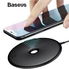 -Baseus 15W Qi Wireless ChargeriPhone XS XR XS Max  8 8Pus Wireless Charging For Samsung S9 S8 S7 Note8 Portable for Phone charger on JD
