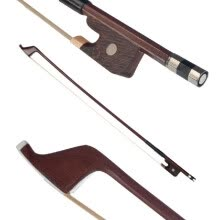 -German Style Bows for Size 4/4 Double Bass Brazilwood Bow Horsehair Bow Hair Great Balance Point Orchestral Strings Accessories on JD