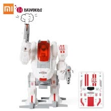 -Xiaomi Bravokids DIY Robot Builder DIY Building Blocks Electric DIY Toys Set Puzzle Assembly Toy Model  Kids Boy Girls Toy Figures on JD