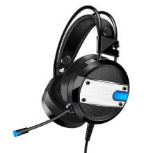 -A10 Wired Gaming Headset Deep Bass Headphones w/Microphone LED Light for PC on JD