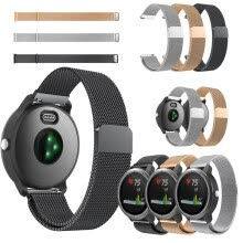 assisted-yoga-Para Garmin Vivoactive 3 Watch Band Acero inoxidable 145-250mm Pulsera reemplazar on JD
