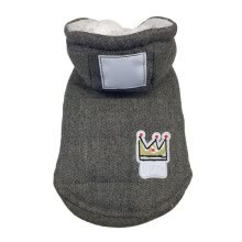 -Grey Winter Dog Clothes Warem Pet Puppy Down Coat Jacket for Small Dogs Cats Suit Hoodies on JD