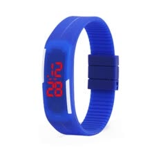 -Korean version of the LED bracelet second generation silicone electronic watch children boys and girls sports silicone electr on JD