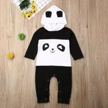 -Unisex Baby Animal Costume Winter Autumn Hooded Romper Toddler Cosplay Long Sleeve Jumpsuit Outfits Clothes 3-24M on JD