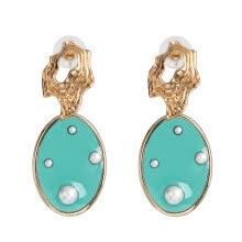-Fashion cute pearl Crystal Dangle Drop Earrings Women Hanging Earrings Girls Indian Bridal Party Statement Jewelry Wholesale on JD