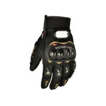 -Motorcycle Riding Gloves Leather Anti-fall Cross-country Glove Racing Safety Gloves on JD