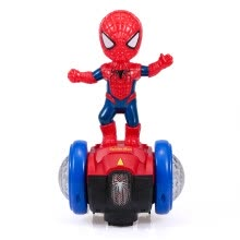 -Superhero Spider-Man Balance Car Music Robot with Flash Light Electric 360 Degrees Rotation Toy Gift For Children Kids on JD