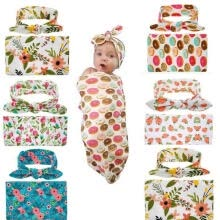 -The Hotsale and New AU Stock Newborn Baby Floral Swaddle Wrap Bassine Swaddling Sleeping Bag Blanket on JD