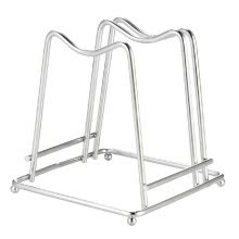 bathroom-supplies-Stainless Steel Cutting Board Holder Chopping Board Stand Rack Kitchen Household Organizer on JD