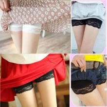 -Hot Women Ladies Dancing Shorts Spandex Elastic LacePants Safety Short Pants Underwear on JD
