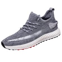 -2019 Summer mesh breathable shoes Men's Fashion lace up Breathable Lace-up Sport Athletic Walking Shoes Sneakers on JD