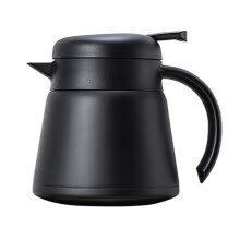 -800ml Dual-wall Heat Insulated Kettle Coffee Maker Stainless Steel Tea Pot Jug on JD