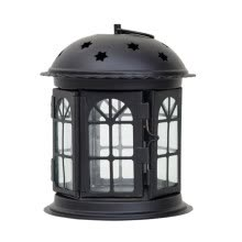 -1pcs Star Hollow Candle Holder Candlestick Tealight Hanging Lantern Bird Cage Vintage Wrought Home Decor Wedding Candle Holder on JD