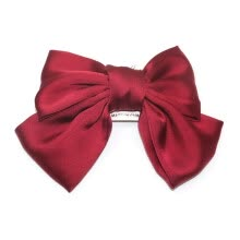 fine-jewelry-Large Bowknot Hair Clips Girls Silk Satin Bow Barrette Hair Clip Diy Big Bowknot Hairclips Hair Accessories on JD