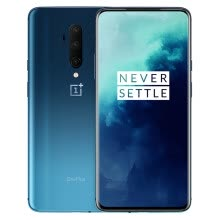 -One plus OnePlus 7T Pro 2K+90Hz fluid screen Xiaolong 855Plus flagship 48 million ultra wide angle three camera 8GB+256GB Haiyue blue full screen camera game mobile phone on JD