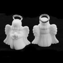 -Rings Necklace Display Box Jewelry Container Angel Pattern Mini Storage Case on JD