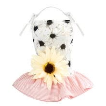 -Lovely Pet Clothes Summer Sunflower Decor Dress Dog Puppy Wedding Dresses on JD