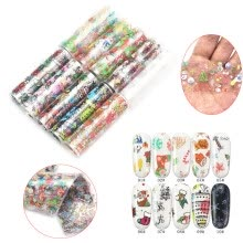 -Nomeni Nail Art Water Transfer Sticker DIY Manicure Decor Christmas Sticker on JD