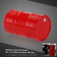 -Oil/Gas Tank Container for 1/10 AX10 SCX10 RC4WD Rock Crawler RC Car on JD