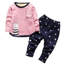 sleepwear-robes-Autumn Winter Infant  Baby Romper Long Sleeves Cotton Cartoon Elephant Baby Pajamas Newborn Baby Girls Boys Romper on JD