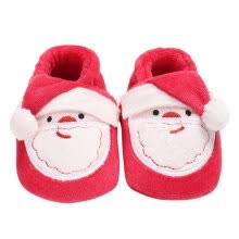 -Christmas Man Deer Style Infant Baby Girl Shoes First Walkers Cute Princess Cotton Warm Fleece 0-18 Month on JD