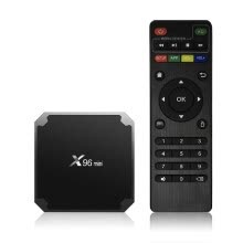 -X96mini Smart Android 7.1.2 TV Box Amlogic S905W Quad Core H.265 VP9 HDR10 Mini PC 2GB / 16GB DLNA WiFi LAN HD Media Player EU Plu on JD