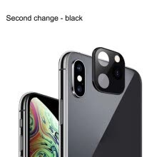 -Phone Camera Lens Seconds Change Protective Film Anti-Scratch Protector For iPhone X /XS /XS MAX  For iPhone 11 Lens Cover on JD