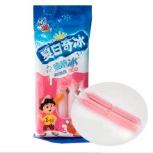 -Hiroyuki summer ice crispy ice strawberry flavor 85ml*5 sticks/bags special sticks ice fruit flavor can be sucked on JD