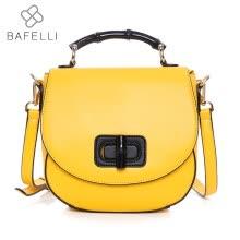 36a0b3574cfb BAFELLI новый мешок плеча плеча мешка лимона желтого крошечного мешка  горячего bolsa feminina женщин