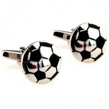 875062462-'Yoursfs® Men Classic Stainless Steel Wedding Anniversary Ball Style Cuff Link ' on JD