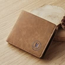 -MashaLanti Men's Fashion Leather Wallet on JD