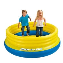 8750213-INTEX48267 home inflatable jumping music bouncing school children's children's playground on JD