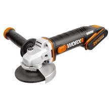 -WORX Cordless Angle Grinder WX802 Household Lithium Electric Cutting Machine Angle Grinding Machine Grinding Machine Hand Grinder Polishing Machine Hardware Power Tools on JD