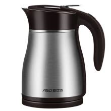 -ASD AW-S12Z101 1.2L Vacuum Insulated Electric Kettle high-quality thermostat 304 Stainless Steel Double-wall Cool Touch Overturning water flow prevention structure on JD