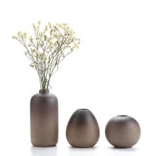 8750202-Hot Sale Euro Flower Vase Vintage Ceramic Vase For Home Decoration Set Of 3 on JD