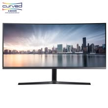 -Samsung (SAMSUNG) 34-inch 21:9 Ultra-widescreen 1800R High-resolution curved low-blue wide-angle computer monitor C34H890WJC (HDMI/DP dual interface) on JD