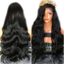 -Lace Front Human Hair Wigs Pre Plucked 250% Density Frontal Hair Wig Body Wave Bleached Knots Osolovely Hair on JD