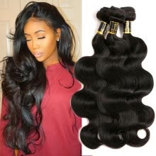 -YAVIDA Hair 7A Brazilian Hair Body Wave 3 Bundles Unprocessed Raw Brazilian Hair Body Wave Bresilienne Cheap Human Hair Weave on JD