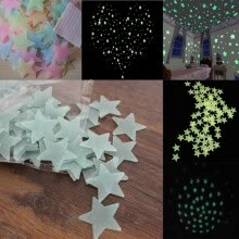 -NicerDicer Home Wall Night Glow Space Star Stickers Ceiling Decal Baby Kid Room Starry 96548 on JD